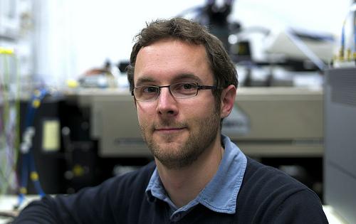 Dr. Lukas Kull, scientist, IBM Research in Zurich. Image credit: IBM Research - Zurich