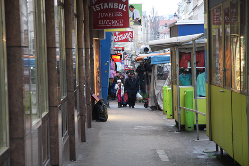 Muslimischer Alltag in Wien. Image copyright: Parastou Hagh Nejad