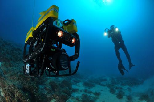 Unterwasser-Roboter (Image copyright: CADDY)