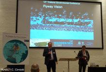 Der NABU brachte auf der Wattenmeer-Konferenz die Flyway-Initiative mit auf den Weg. Image credit: NABU.de