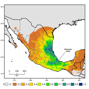 The international, interdisciplinary team determined that the domesticated chili pepper's region of origin extending from southern Puebla and northern Oaxaca to southeastern Veracruz, and is further south than was previously thought. Photo courtesy of Gary Nabhan and Paul Gepts (Click image to enlarge)