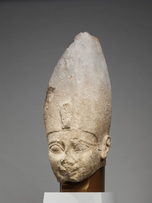 A new translation of a 6-foot-tall calcite block called the Tempest Stela suggests the Egyptian pharaoh Ahmose ruled at a time 30 to 50 years earlier than previously thought—a finding that could change scholars' understanding of a critical juncture in the Bronze Age. Image courtesy of Metropolitan Museum of Art