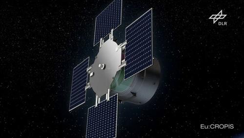 Satellit Eu:CROPIS. Image credit: DLR