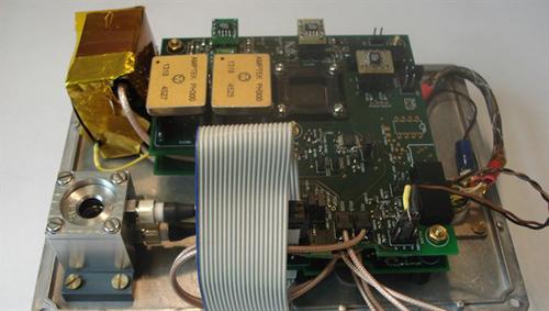 Strahlungsdetektor RAMIS. Image credit: DLR