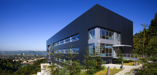 The Molecular Foundry is one of five DOE Nanoscale Science Research Centers (NSRCs) dedicated to interdisciplinary research at the nanoscale. The Foundry is hosted at Berkeley Lab. (Photo by Roy Kaltschmidt, Berkeley Lab)