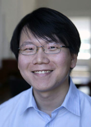 """Yen-Tsung Huang. """"Our integrated approach outperforms single-platform approaches. Applied to real data sets, it works."""" Image credit: Brown University"""