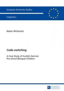 Book cover: 'Code-switching: A Case Study of Kurdish-German Pre-school Bilingual Children'