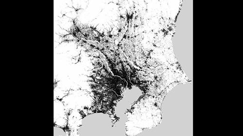 Mehr als neun Millionen Einwohner leben auf engstem Raum im Zentrum der japanischen Hauptstadt Tokio. Die Stadt ist jedoch längst mit anderen Millionenstädten wie Yokohama zusammengewachsen. Die Radaraufnahme der Satelliten TerraSAR-X und TanDEM-X des Deutschen Zentrums für Luft- und Raumfahrt (DLR) zeigen, dass die Natur mit Meer und Bergen dem Ausufern der urbanen Strukturen Grenzen setzt. Image Quelle: DLR