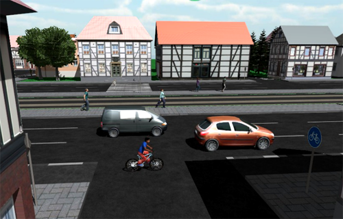 Screenshot des Videospiels. Image credit: Universität Kassel