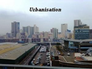 Urbanisation. Image credit: Iqbal Osman (Source: Flickr)