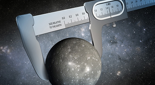 Using data from NASA's Kepler and Spitzer Space Telescopes, scientists have made the most precise measurement ever of the size of a world outside our solar system, as illustrated in this artist's conception. Image credit: NASA/JPL-Caltech