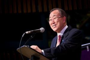 UN-Generalsekretär Ban Ki-Moon. Photo credit: John Gillespie (Source: Flickr)