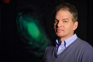 Chris Adami, professor of microbiology and molecular genetics. Photo by G.L. Kohuth
