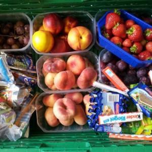 Lebensmittel, zu schade für die Mülltonne. Image credit:  © WWF