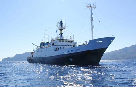 Professor Ruth Blake was on the E/V Nautilus during its Windward Passage leg. (Image credit: Photo via Ocean Exploration Trust)