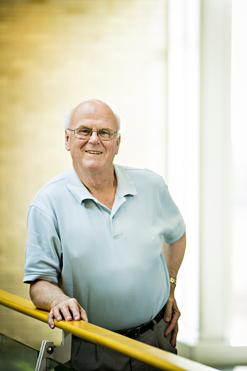 R. Michael Roberts is a Curators Professor of Animal Science and Biochemistry and a researcher in the Bond Life Sciences Center. Image credit: University of Missouri