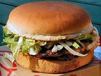 Ein typisches Fast-Food-Gericht. Photo credit: Ericd (Source: Wikipedia)