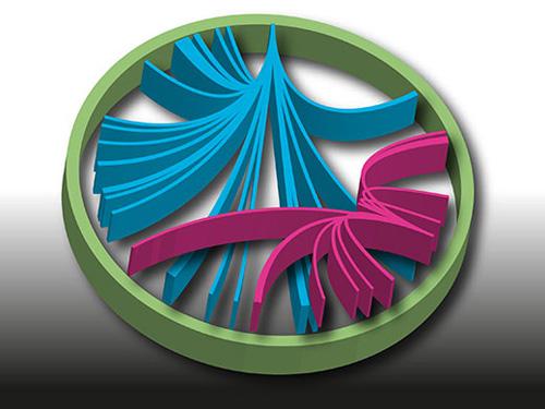 Genduplikationen haben eine entscheidende Rolle in der Evolution der Chlamydien gespielt - im Bild eine Illustration der Genduplikation eines Chlamydiengenoms (Image copyright: Allen Tsao).
