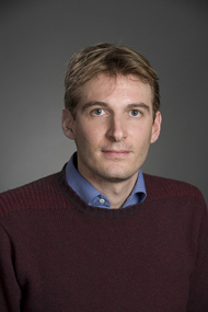Associate Professor Andrea Alu of the Cockrell School of Engineering. Image credit: The University of Texas at Austin