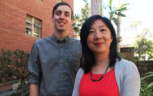 Doctoral student Felix Danbold and professor Yuen Huo found that white Americans' favorable views of diversity tends to diminish if they understand that whites will soon be a minority in the U.S. Photo credit: Christelle Nahas/UCLA Newsroom