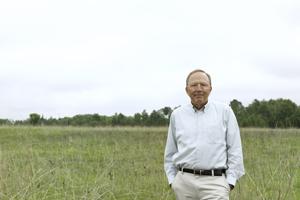 Professor David Tilman. Image credit: University of Minnesota