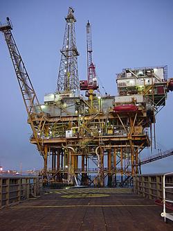 Offshore Platform.  Image credit: Chad Teer (Source: Wikipedia)