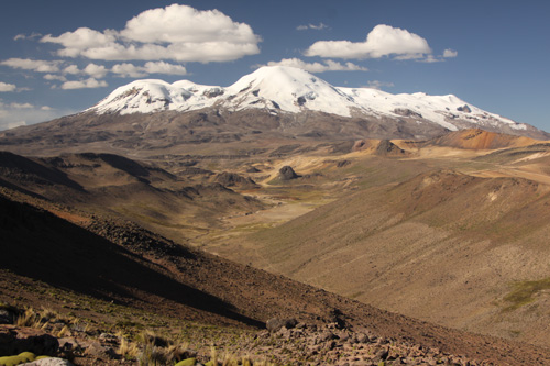 New research shows that humans trekked up river canyons from the coastlands to make homes high up in the Andes. (Photo courtesy of Kurt Rademaker)
