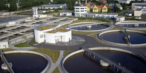 Die Abwasserabgabe könnte einen Beitrag zur Finanzierung des Ausbaus großer Kläranlagen leisten.Image Quelle: Stadtentwässerung Dresden GmbH