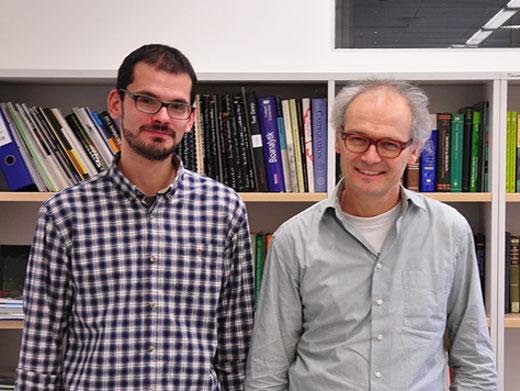 Die Autoren der aktuellen Publikation: Grigory Genikhovich und Ulrich Technau (Copyright: Adrien Demilly).