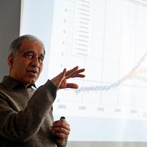 Prof.Dr Mojib Latif. Image credit: © Arnold Morascher / WWF