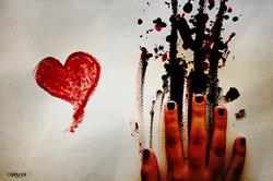 Bärbel: 'aber wir wissen es.....wir beide wissen es ganz genau…..wir spüren den Schmerz und die Sehnsucht nacheinander jedes Mal.....' (Image credit: LK, Source: Flickr)
