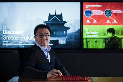 Baoguo Xie, IBM Research-China, Gren Horizons Project. Photo credit: IBM