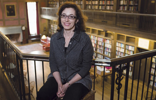 A novel about tuberculosis patients sparked Anna Reisman's interest in medicine. She now leads the Yale Program for the Humanities in Medicine. (Photo by Terry Dagradi)