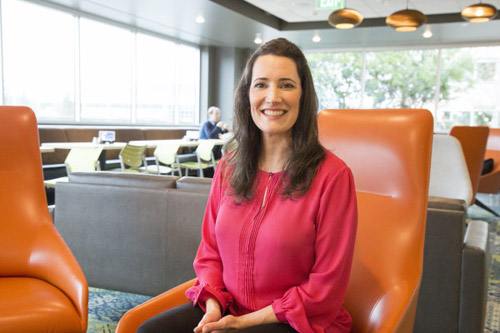 Abby Arvanitidis, Recruiter at Microsoft. Image credit: Microsoft