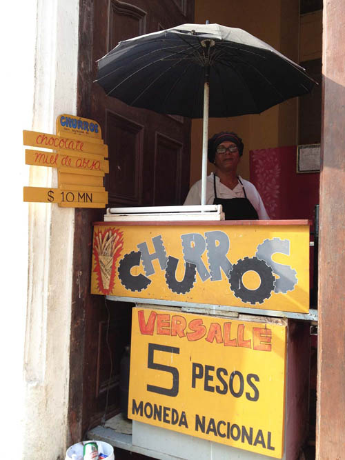 Whether it's taxi cabs, churros or salsa lessons, entrepreneurship seems to have sprouted everywhere in Cuba. But U-M anthropology professor Ruth Behar fears many are being left out of the new emerging Cuban economy. Image courtesy: Ruth Behar