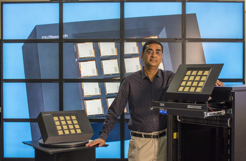 Dharmendra S. Modha, IBM Fellow and Chief Scientist for Brain-inspired Computing with the IBM Neurosynaptic System at IBM Research's Almaden Lab in San Jose, Calif. (Photo credit: Hita Bambhania-Modh)
