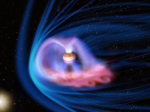 Artistic rendering of Jupiter's magnetosphere (Image credit: JAXA)