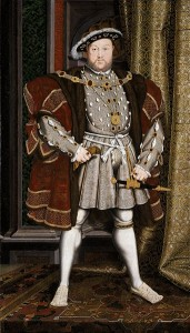 Detail of portrait of Henry VIII by the workshop of Hans Holbein the Younger. Image credit: Commons.Wikimedia