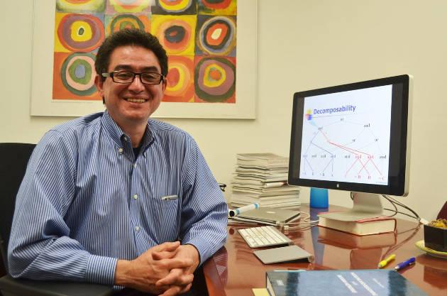 UCLA Engineering professor Adnan Darwiche. Photo credit: Matthew Chin/UCLA