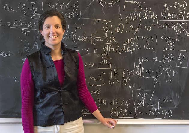 Kathryn Zurek (Photo credit: Roy Kaltschmidt/Berkeley Lab)