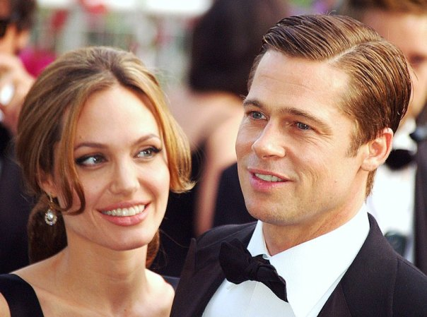 Angelina Jolie and Brad Pitt at the 2007 Cannes Film Festival. Photo credit: Georges Biard (Source: Wikipedia)