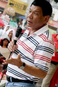 Rodrigo Duterte while as Mayor of Davao in 2009. Photo credit: Keith Kristoffer Bacongco (Source: Wikipedia)