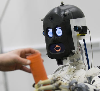 BERT2, a humanoid robot assistant (Image courtesy of Adriana Hamacher)