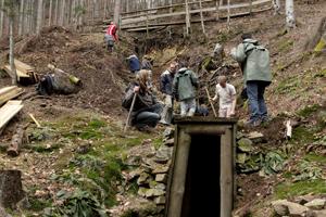 Eingang zur Silbermine Saint Louis-Eisenthür in Sainte-Marie-aux-Mines/Frankreich. Foto credit: Joseph Gautier