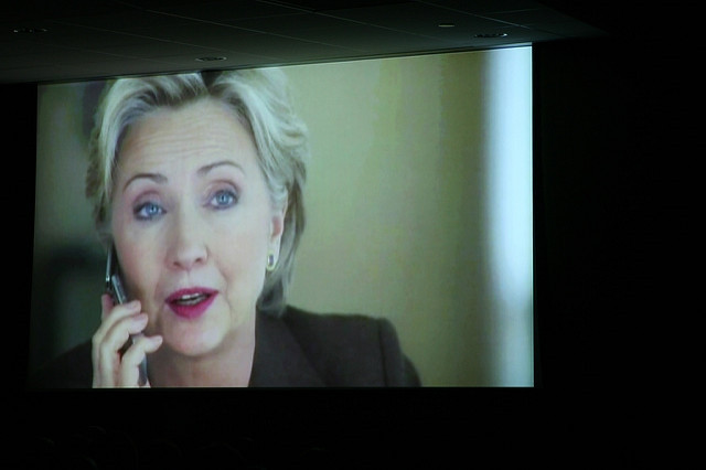 Between 2013 and 2015 Hillary Clinton made 94 paid speeches that earned her about $22 Million (Image credit: Quinn Dombrowski, Source: Flickr)