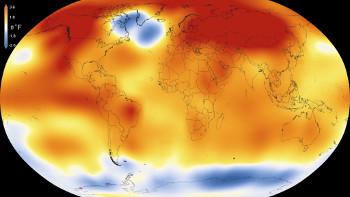 2015 – Warmest Global Year on Record (since 1880). Image credit: NASA (Source: Wikipedia)
