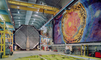 MINOS experimental set-up (Image credit: Fermilab Visual Media Services)