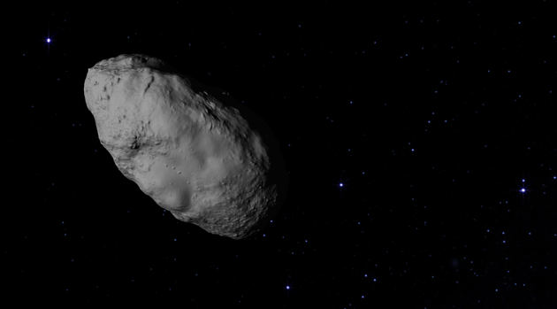 Bennu is among millions of primitive asteroids composed of molecules that may have been the precursors to life on Earth. (Image credit: NASA's Goddard Space Flight Center Conceptual Image Lab)