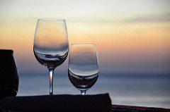 Wine glasses. Image credit: Simon Clancy (Source: Flickr)