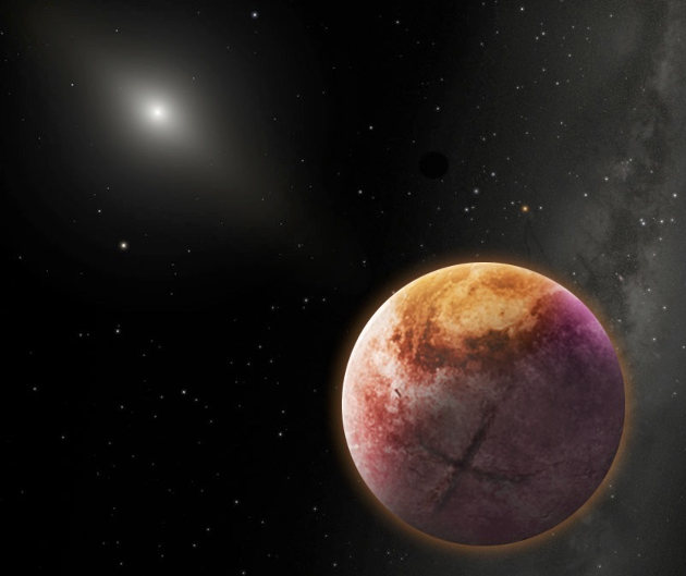 An artist's conception of Planet X, Image courtesy of Robin Dienel